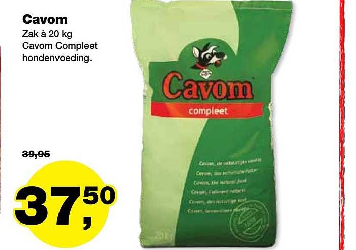 Jumper Cavom Compleet Hondenvoeding