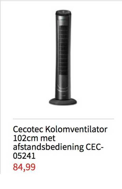 Handyman Cecotec Kolomventilator 102cm Met Afstandsbediening CEC 05241