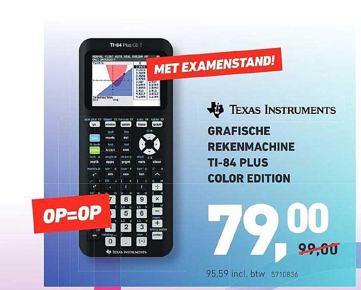 Office Centre Grafische Rekenmachine TI-84 Plus Color Edition