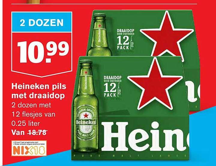 Hoogvliet Heineken Pils Met Draaidop