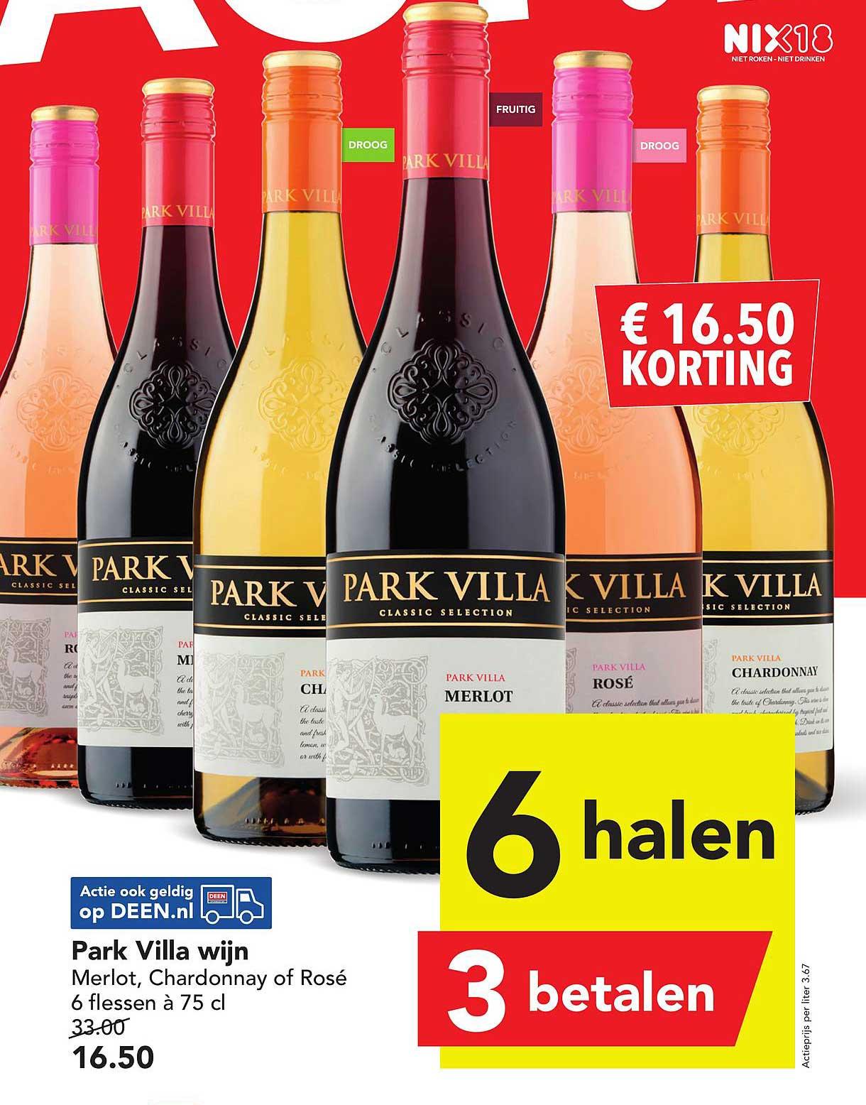 DEEN Park Villa Wijn