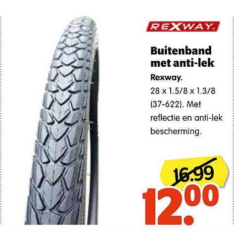 Plentyparts Buitenband Met Anti-Lek Rexway