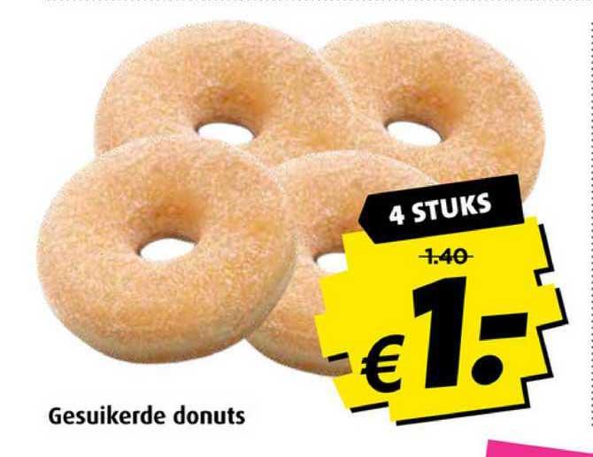 Boni Gesuikerde Donuts