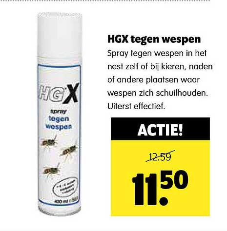 Plentyparts HGX Tegen Wespen