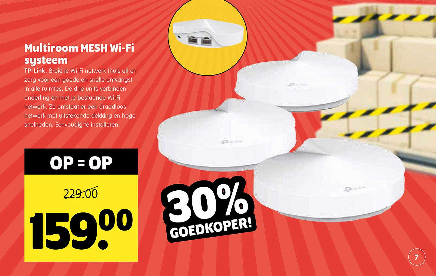 Plentyparts Multiroom Mesh Wi-Fi Systeem TP-Link