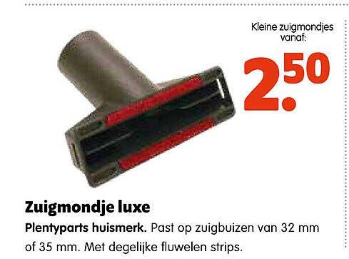 Plentyparts Zuigmondje Luxe Plentyparts Huismerk