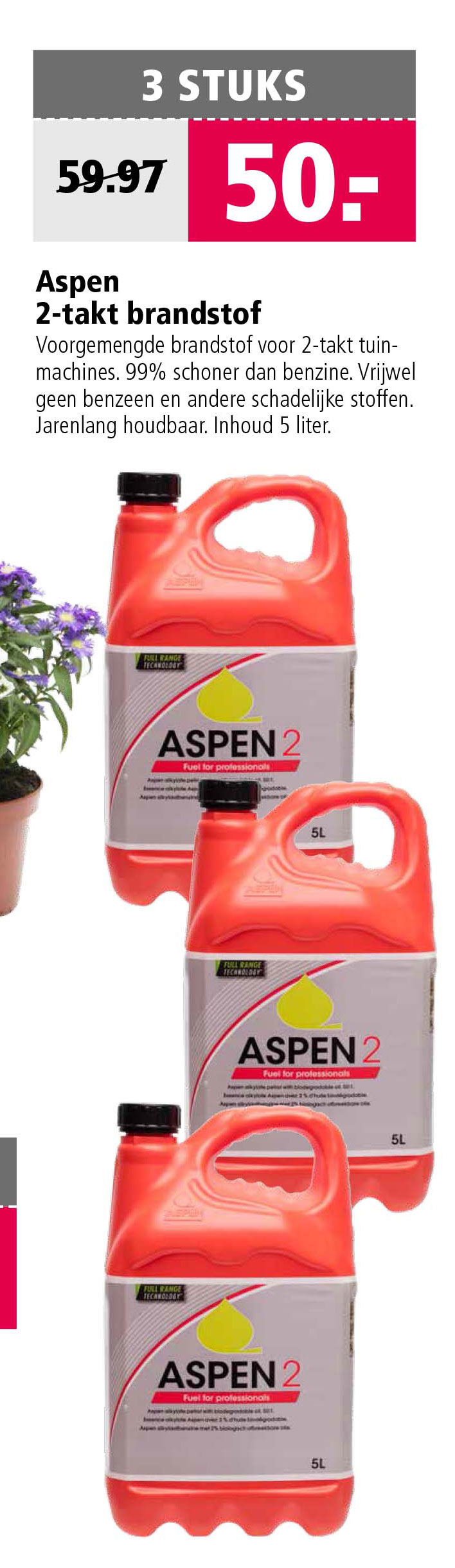 Welkoop Aspen 2 Takt Brandstof