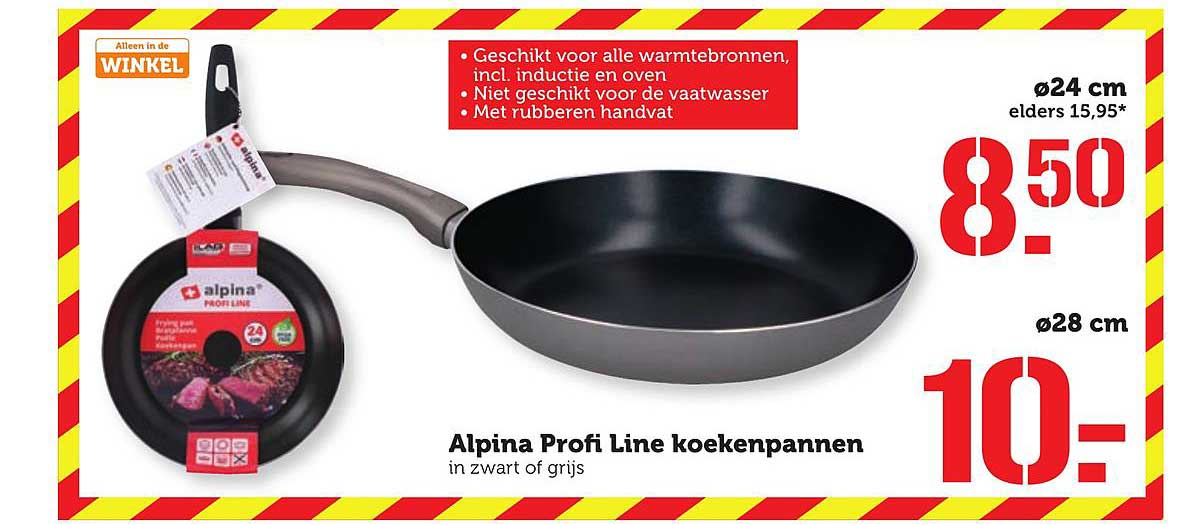 Coop Alpina Profi Line Koekenpannen