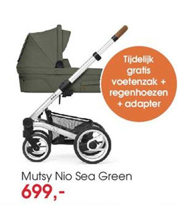 BabyPlanet Mutsy Nio Sea Green Kinderwagen