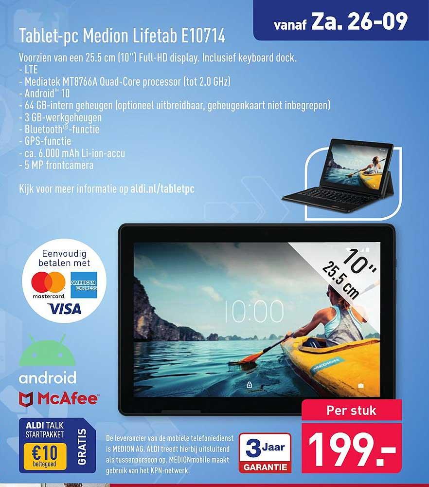 ALDI Tablet PC Medion Lifetab E10714