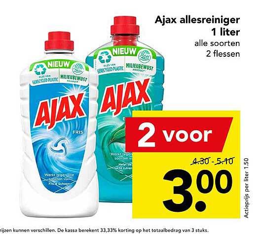 DEEN Ajax Allesreiniger 1 Liter