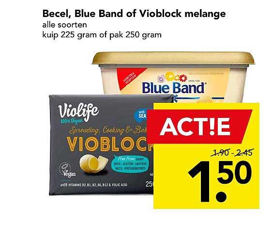 DEEN Becel, Blue Band Of Vioblock Melange