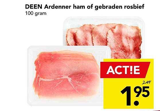 DEEN Deen Ardenner Ham Of Gebraden Rosbief