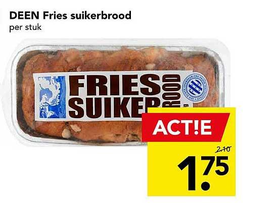 DEEN Deen Fries Suikerbrood