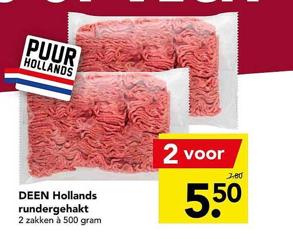 DEEN Deen Hollands Rundergehakt
