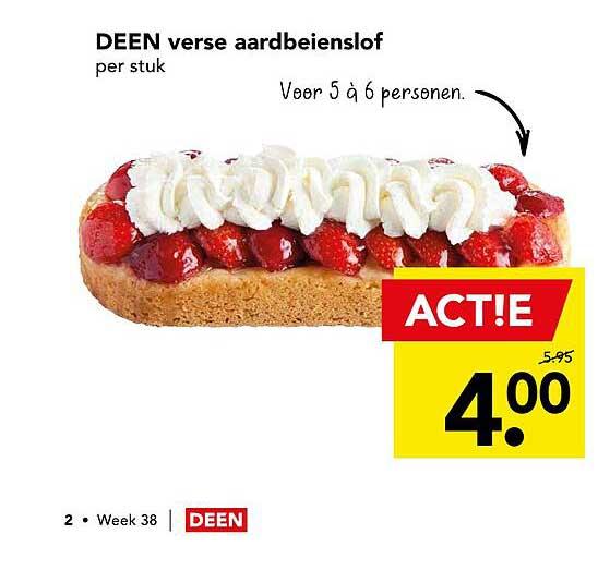 DEEN Deen Verse Aardbeienslof