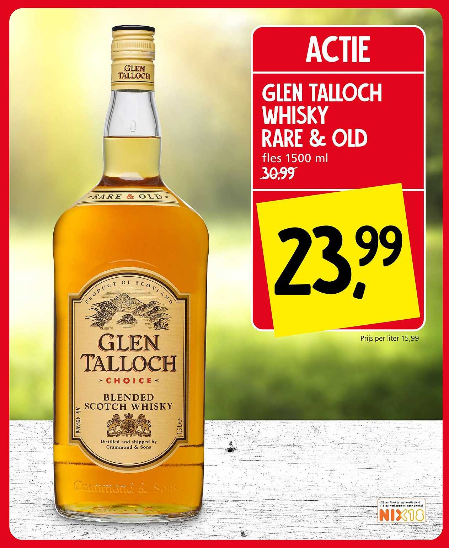 Jan Linders Glen Talloch Whisky Rare & Old