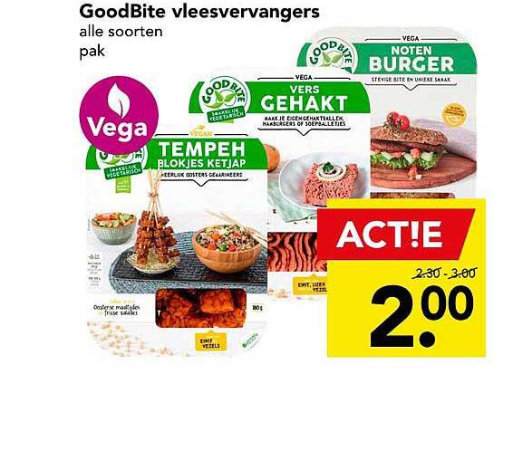 DEEN GoodBite Vleesvervangers