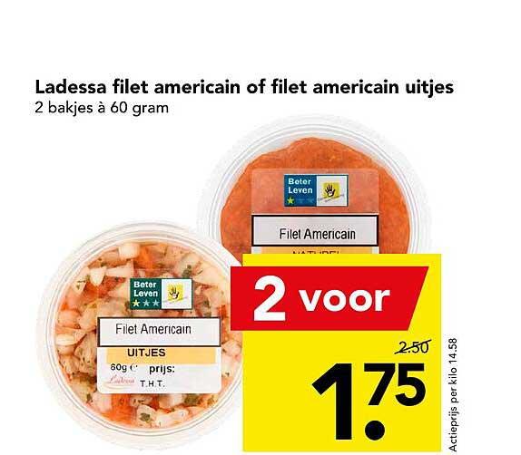 DEEN Ladessa Filet Americain Of Filet Americain Uitjes