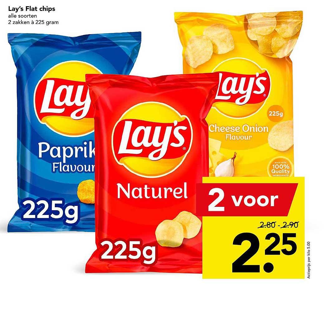 DEEN Lay's Flat Chips