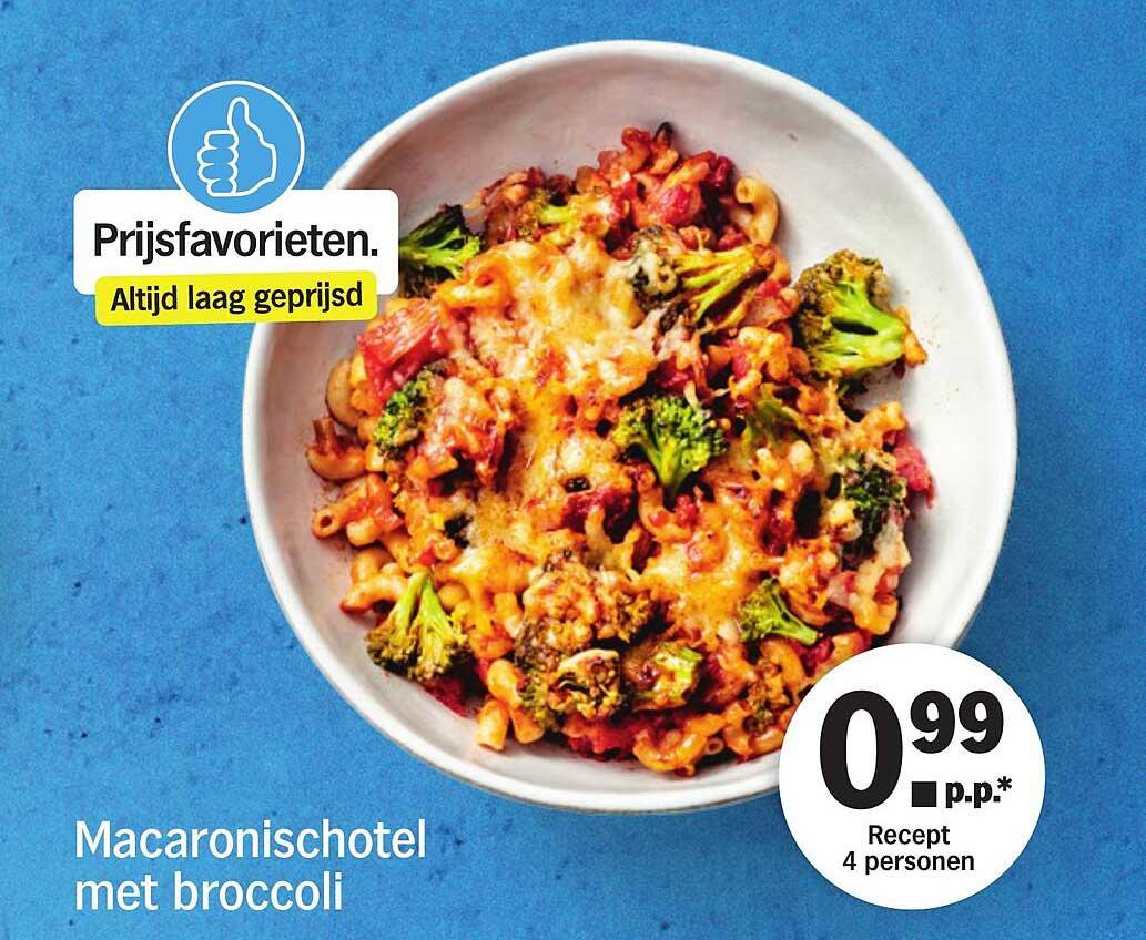 Albert Heijn Macaronischotel Met Broccoli
