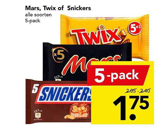 DEEN Mars, Twix Of Snickers
