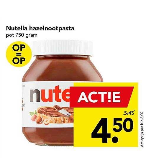 DEEN Nutella Hazelnootpasta