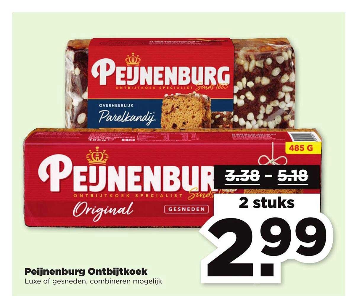 PLUS Peijnenburg Ontbijtkoek Luxe Of Gesneden