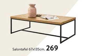 Profijt Meubel Salontafel 67x135cm
