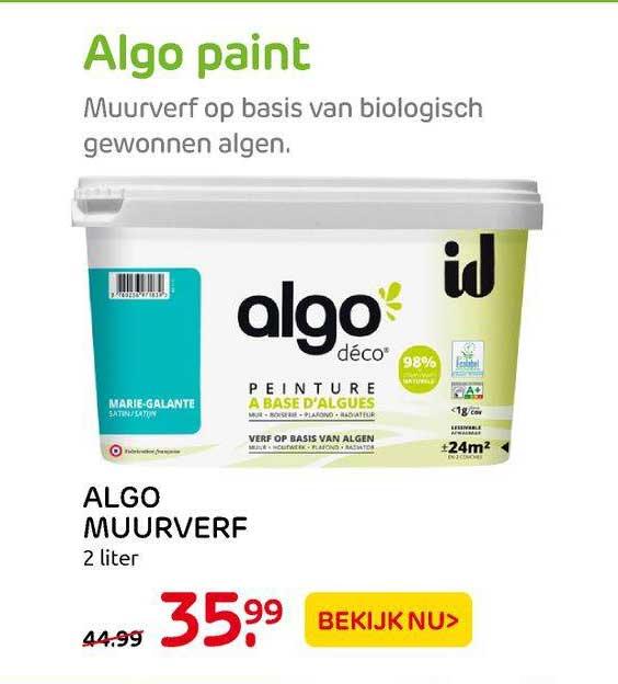 Praxis Algo Muurverf