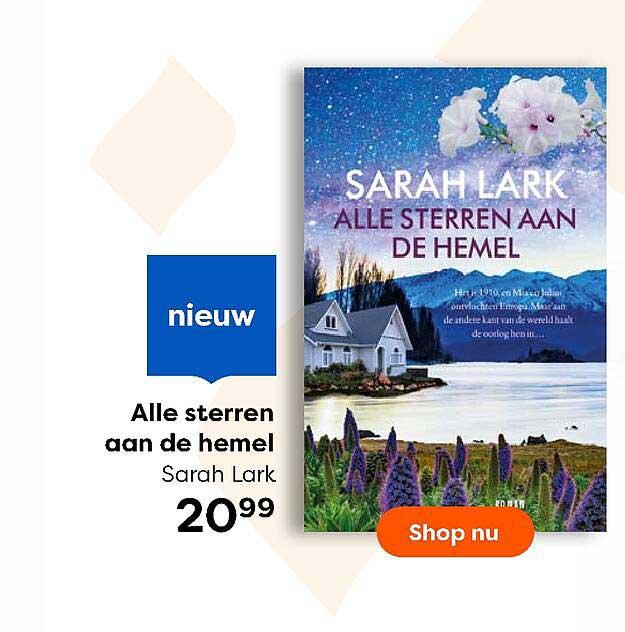 The Read Shop Alle Sterren Aan De Hemel Sarah Lark