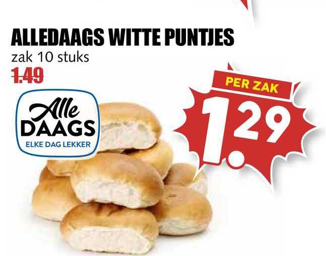 MCD Supermarkt Alledaags Witte Puntjes