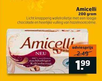 Trekpleister Amicelli 200 Gram