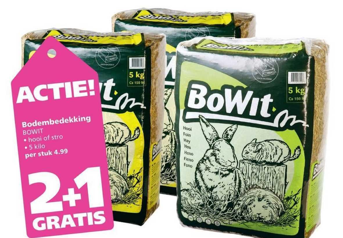 Ranzijn Tuin & Dier Bodembedekking Bowit 2+1 Gratis