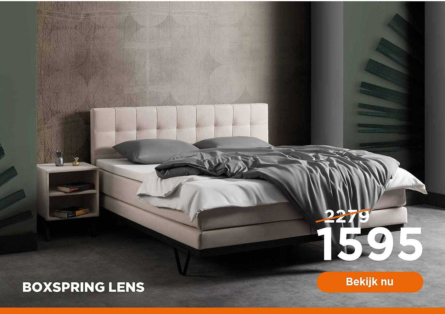 TotaalBED Boxspring Lens