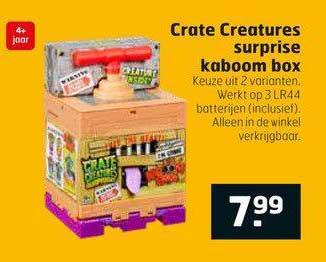 Trekpleister Crate Creatures Surprise Kaboom Box