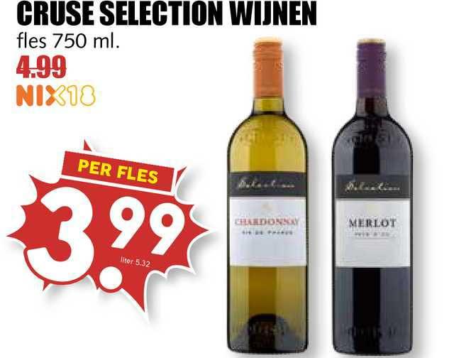 MCD Supermarkt Cruse Selection Wijnen