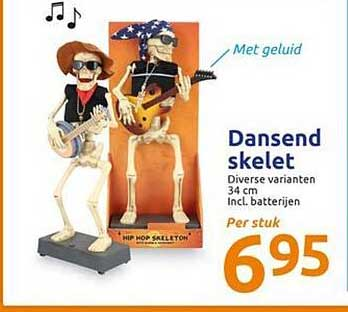Action Dansend Skelet