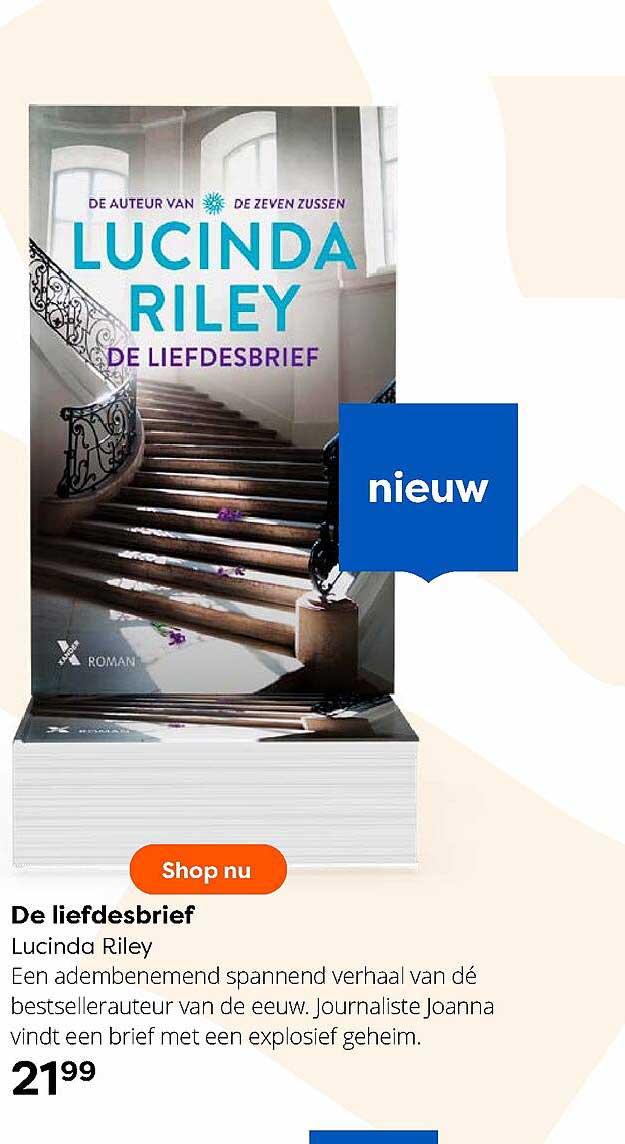 The Read Shop De Liefdesbrief Lucinda Riley