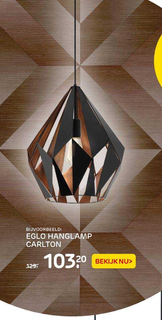 Praxis Eglo Hanglamp Carlton