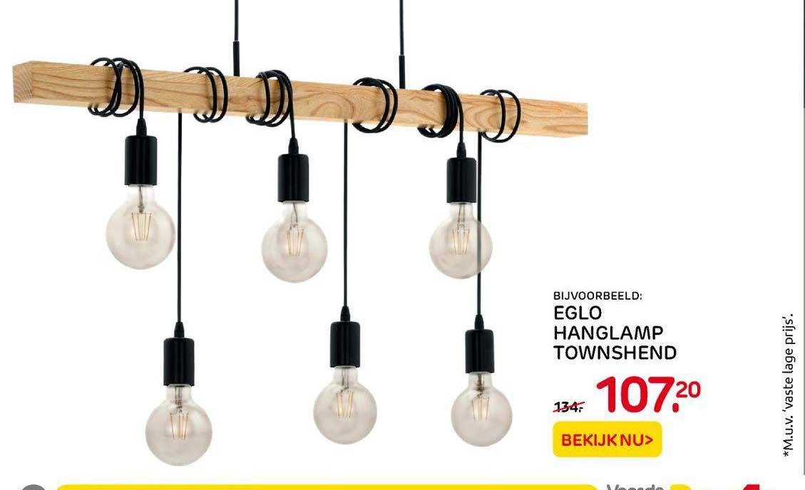 Praxis Eglo Hanglamp Townshend