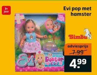 Trekpleister Evi Pop Met Hamster