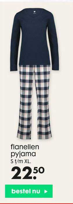 HEMA Flanellen Pyjama