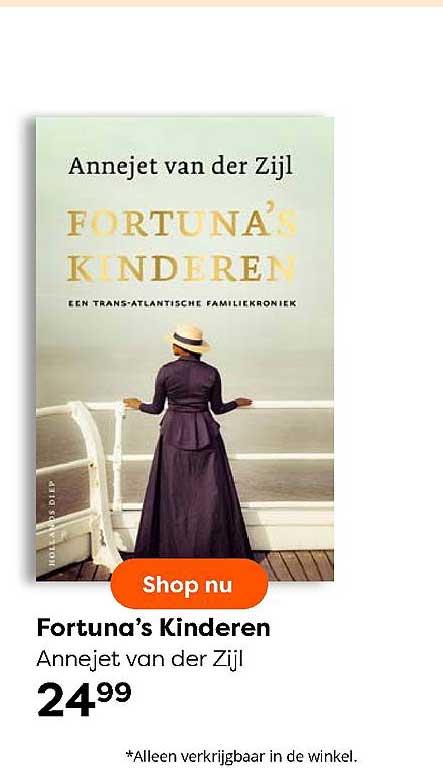 The Read Shop Fortuna's Kinderen Annejet Van Der Zijl