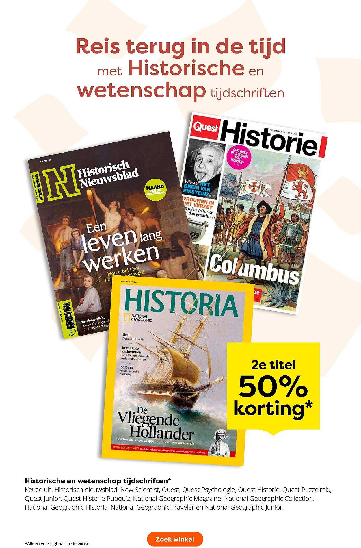 The Read Shop Historische En Wetenschap Tijdschriften 50% Korting