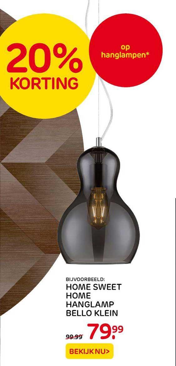 Praxis Home Sweet Home Hanglamp Bello Klein 20% Korting