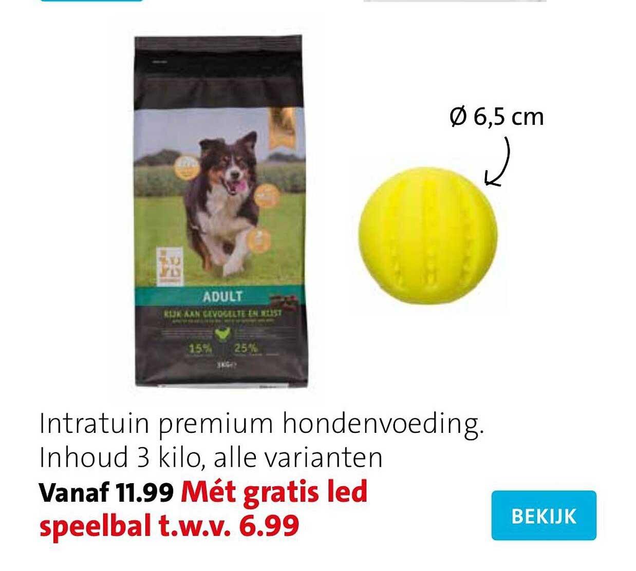 Intratuin Intratuin Premium Hondenvoeding