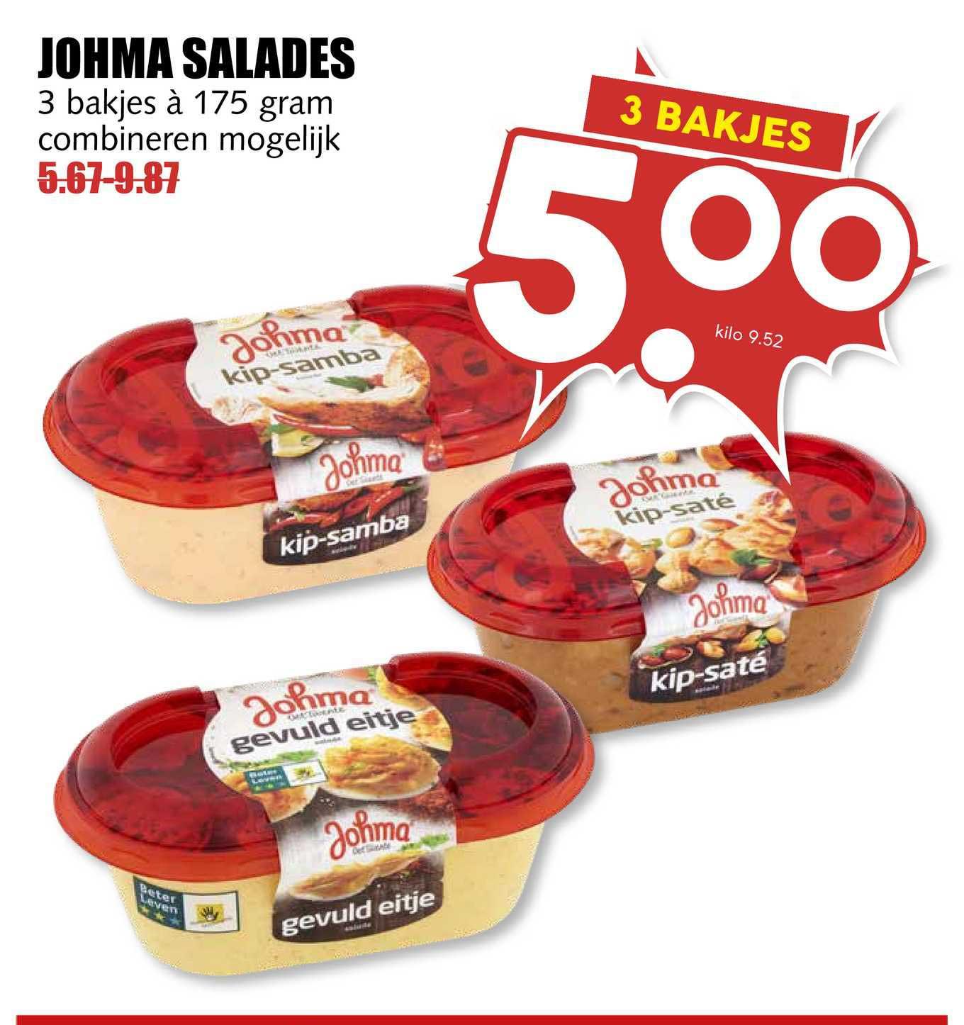 MCD Supermarkt Johma Salades