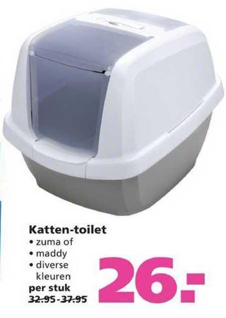 Ranzijn Tuin & Dier Katten-Toilet