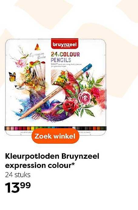 The Read Shop Kleurpotloden Bruynzeel Expression Colour